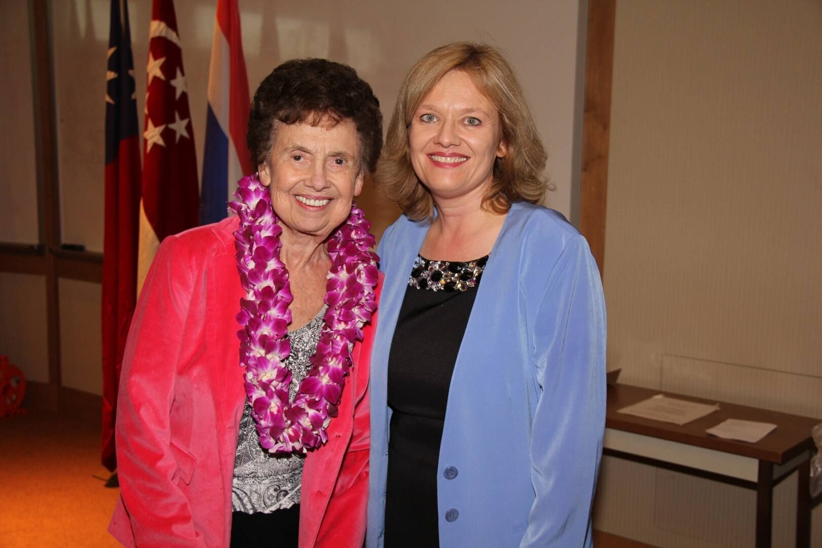 Dr. Iris Mamier and Dr. Patricia Foster