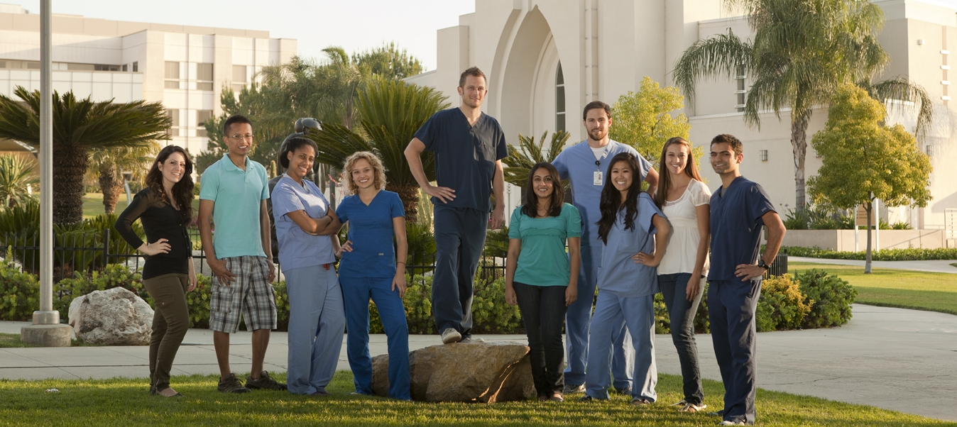 LLU School of Nursing students
