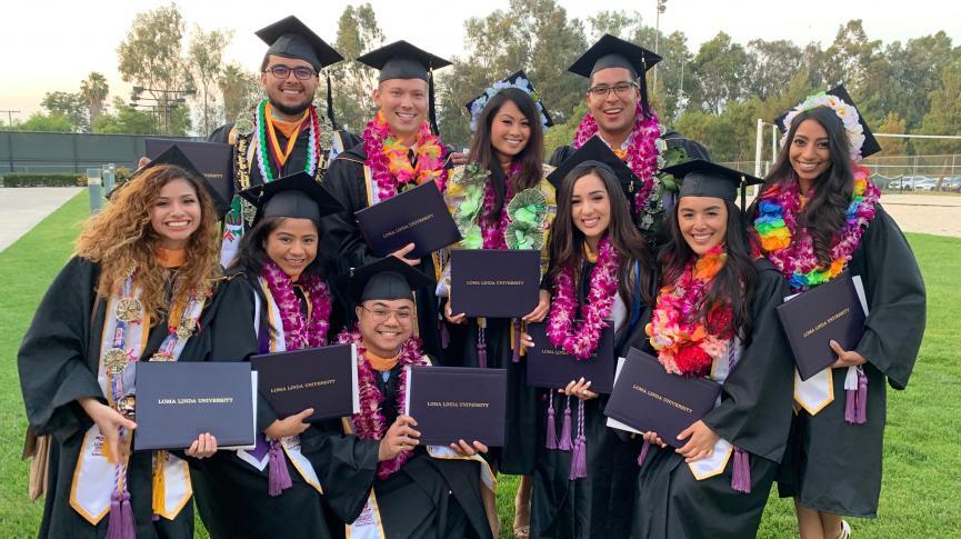 School of Nursing graduates